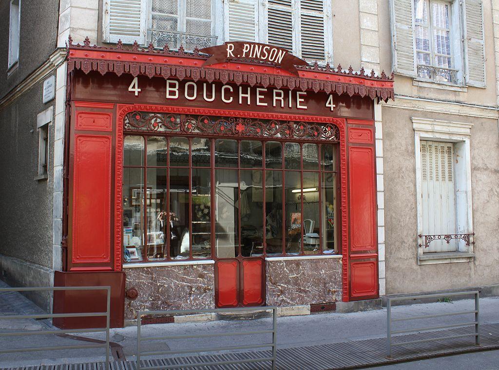 La boucherie Pinson à Chartres