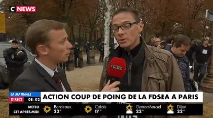 """Interdiction du glyphosate voulue par Hulot : """"Macron tue les agriculteurs"""""""